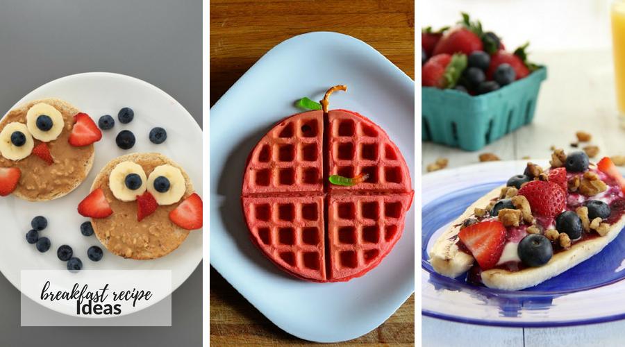 Back to School Breakfast Recipe Ideas