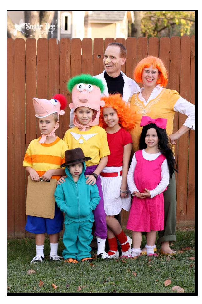 DIY Family Halloween Costume Ideas - The Idea Room