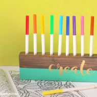 Make Your Own Crayon Holder