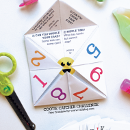Free Printable Cootie Catcher
