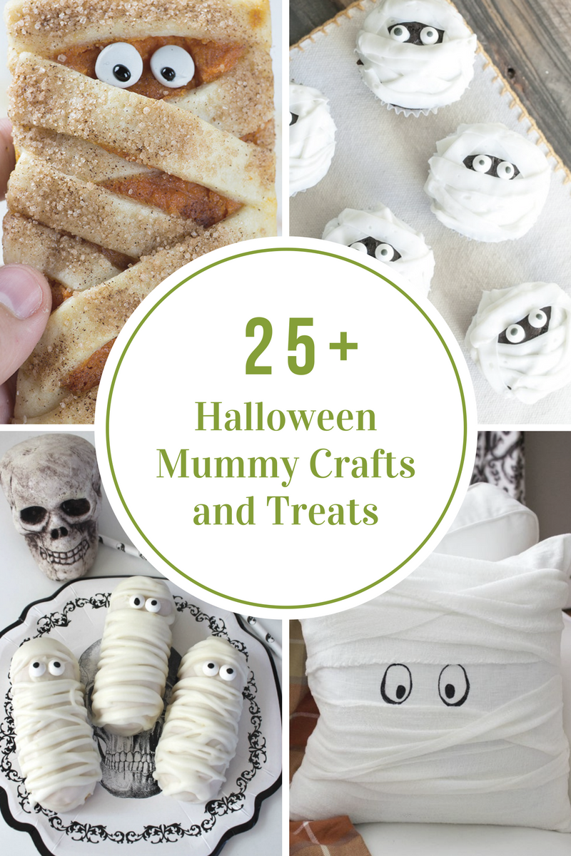 25 halloween mummy treats crafts - Halloween Mummy Crafts