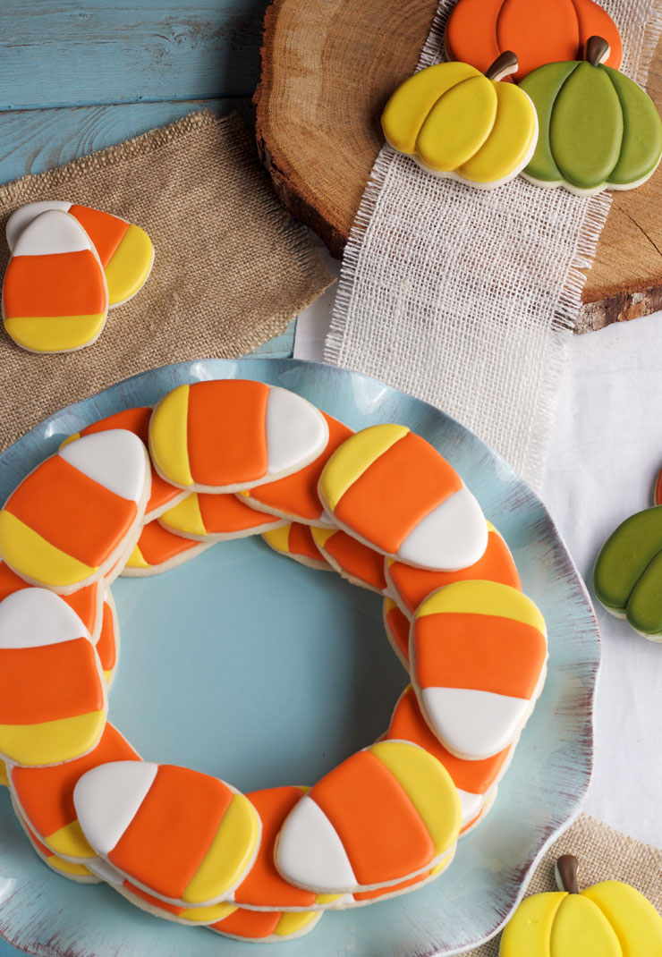 cute-and-simple-candy-corn-cookies-via-thebearfootbaker-com_