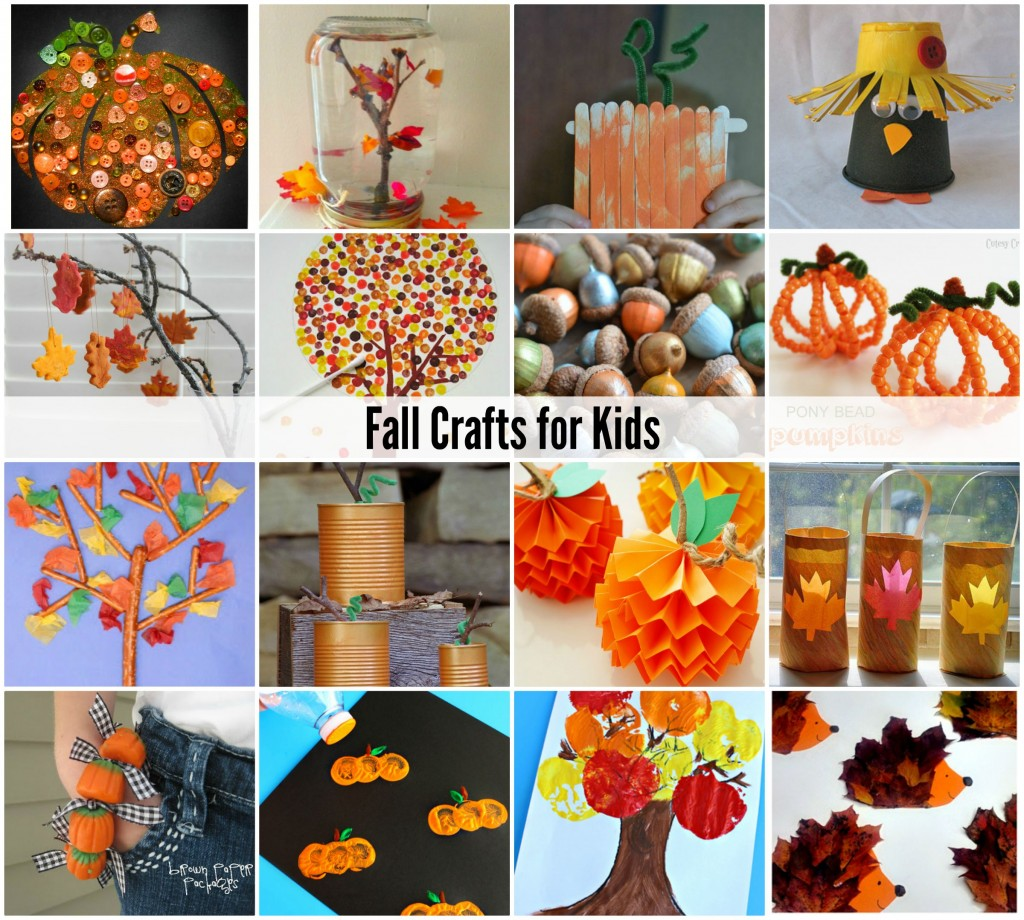 Fall Activities for Kids {Bucket List} Are you looking for fun activities to do with the kids this Fall? Well, look no further! Here are over one hundred fun ways to play and explore! Craft & create with this collection of 25 Fall crafts for kids. There are lots of GREAT ideas here! _____ Looking for more fun ideas? Check these out.