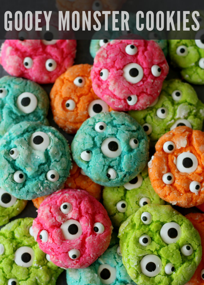 gooey-monster-cookies-recipe-on-lilluna-com-adorable