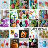 Halloween Monster Crafts and Treats