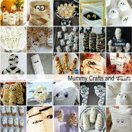 Halloween Mummy Crafts and Treats