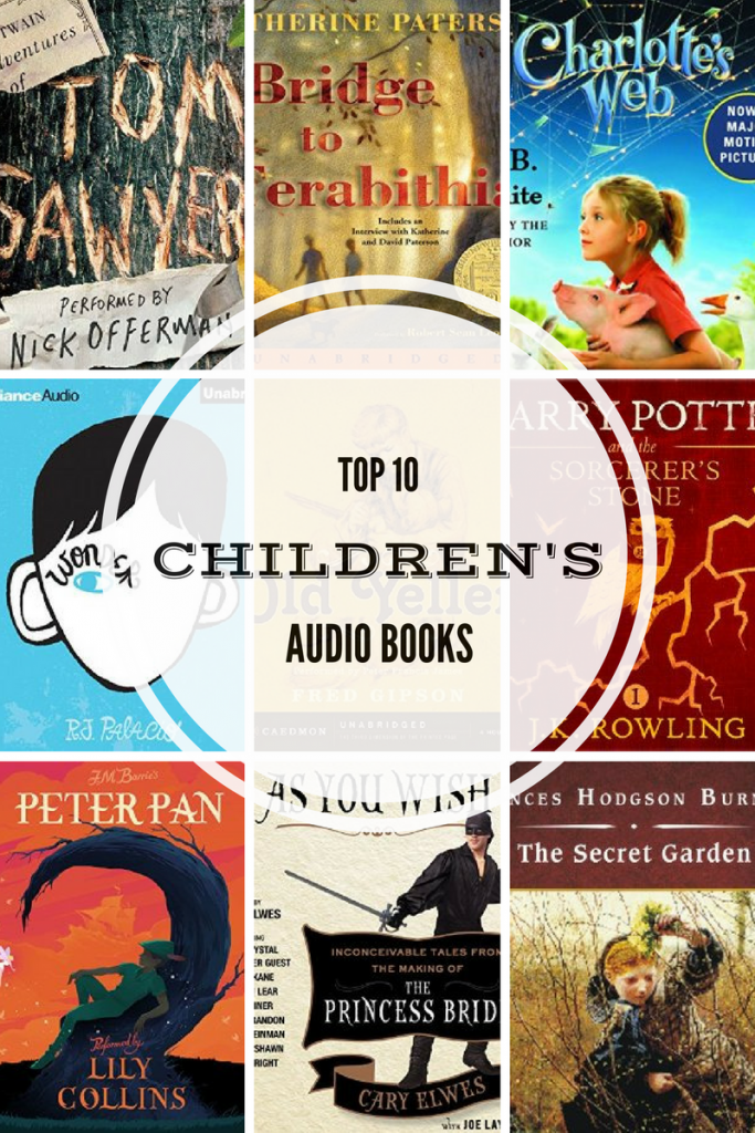 top-ten-childrens-audio-books
