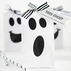 Halloween Ghost Gift Bag
