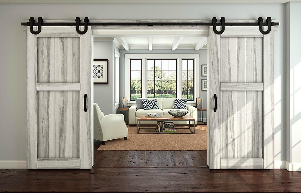 How to Install Barn Door Hardware - The Idea Room