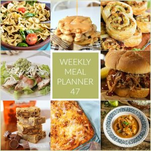 Weekly Meal Plan 47