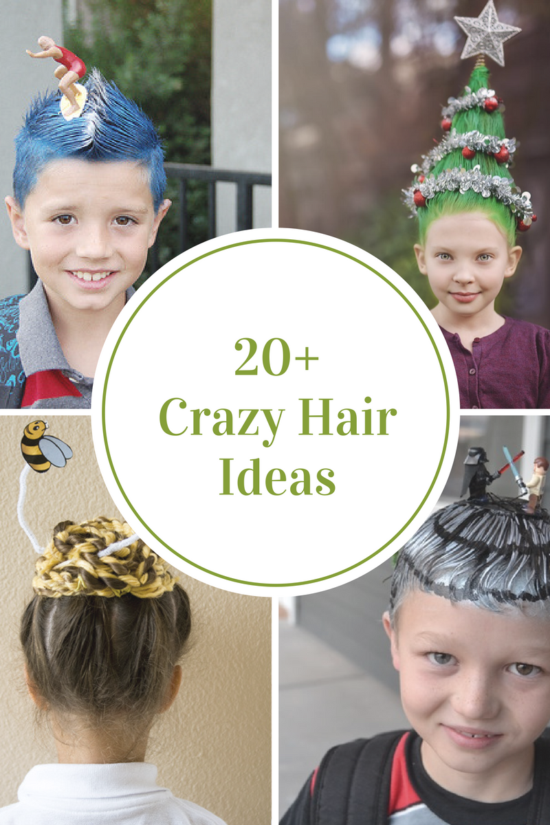 Crazy Hair Day Ideas The Idea Room