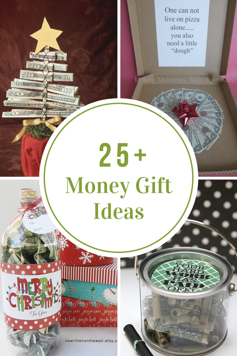 Creative ways to give money as a gift the idea room Christmas present homemade gift ideas
