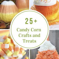 Candy Corn Crafts and Treats