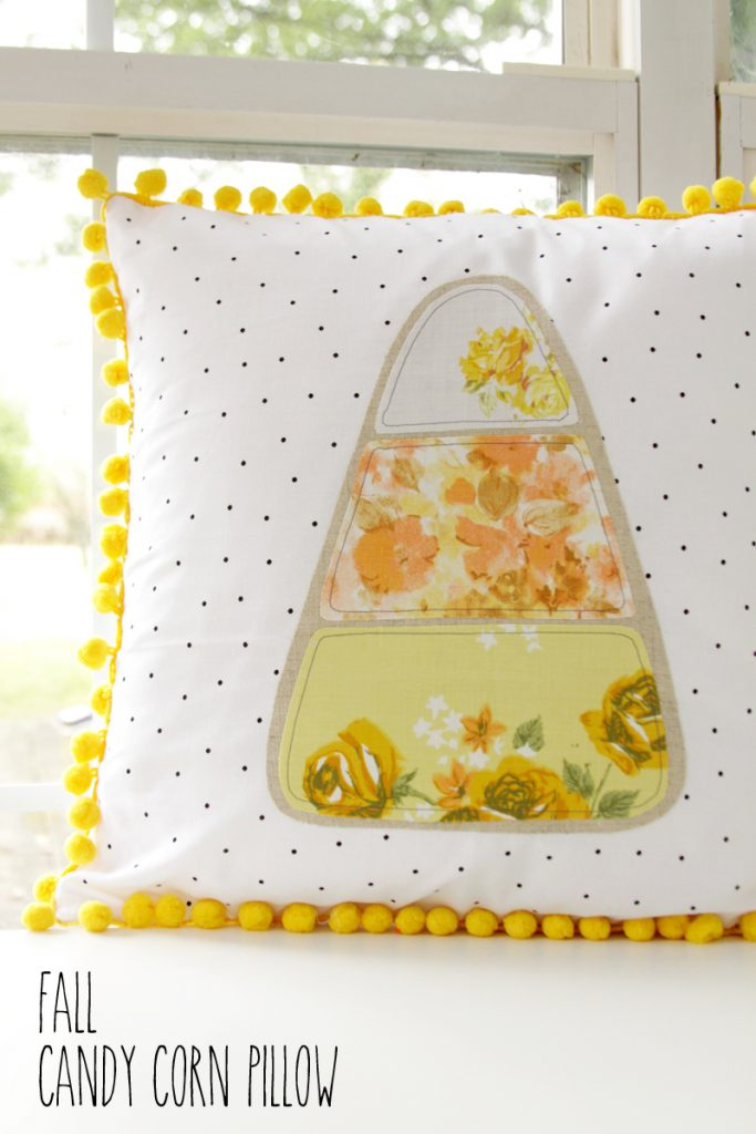 fall-candy-corn-polkadot-pillow