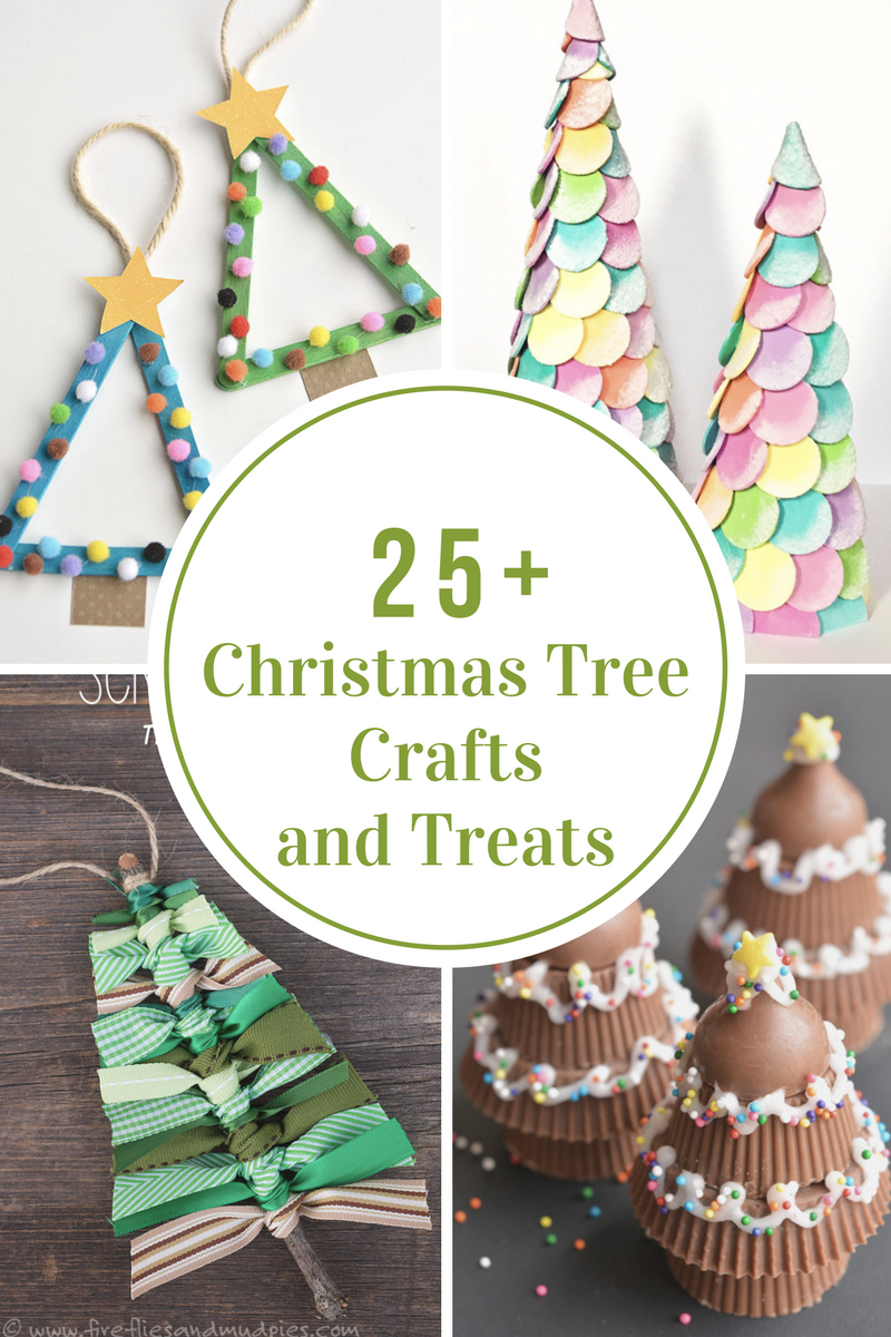 25-christmas-tree-crafts-treats
