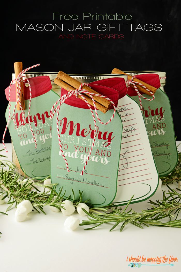 Printable Holiday Gift Tags The Idea Room