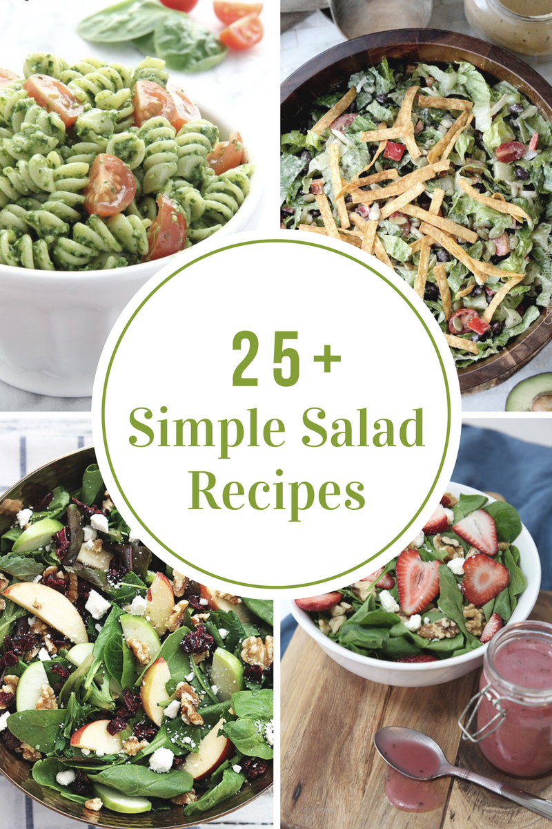Simple Salad Recipes The Idea Room