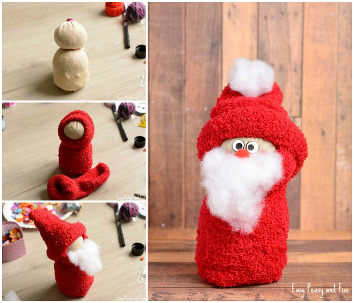 diy-no-sew-sock-santa-craft-for-kids