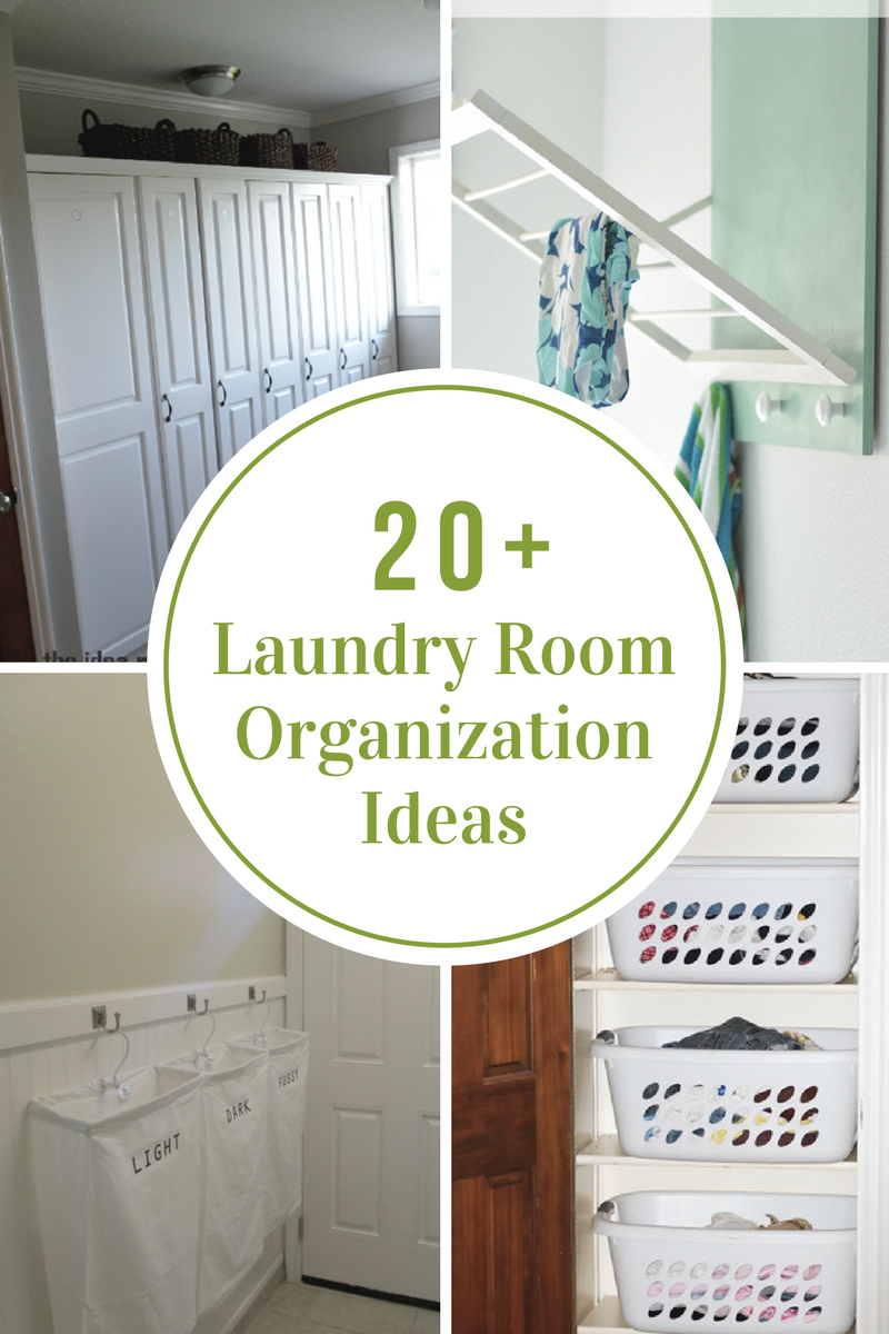 Laundry room organization ideas the idea room for Laundry room plans