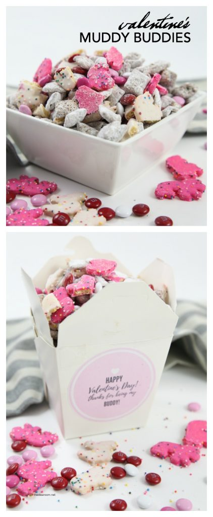 VALENTINES MUDDY BUDDIES PIN