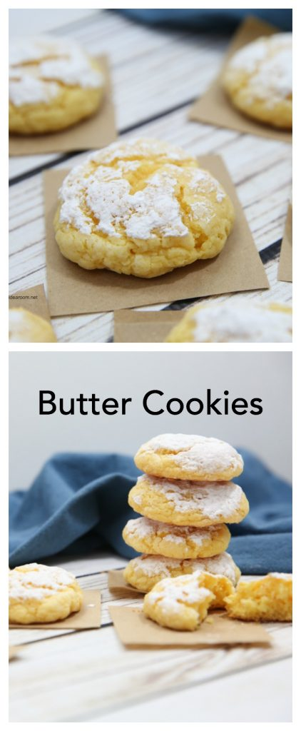 butter cookies pin