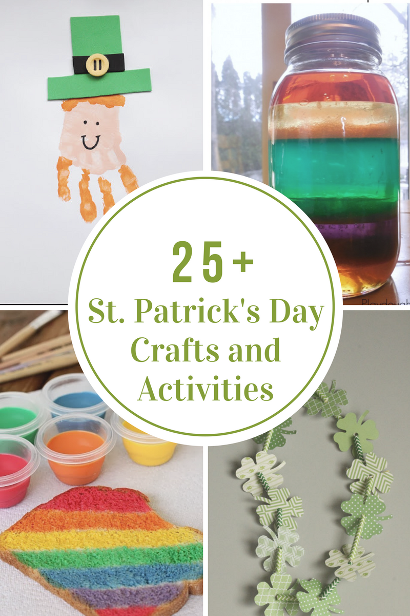 St Patrick S Day Crafts And Activities The Idea Room