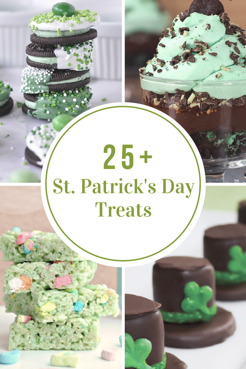 St. Patrick's Day Treat Recipes - The Idea Room