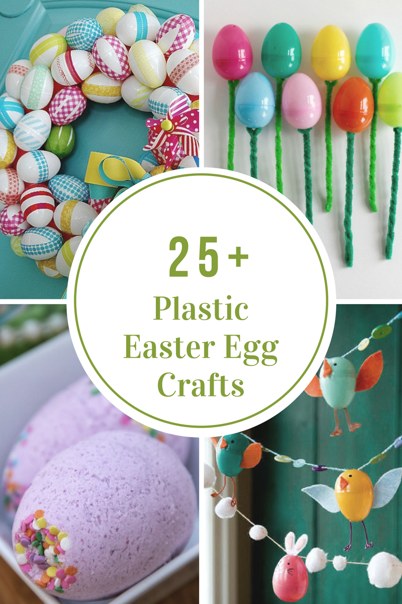 Plastic Easter Egg Crafts And Activities The Idea Room