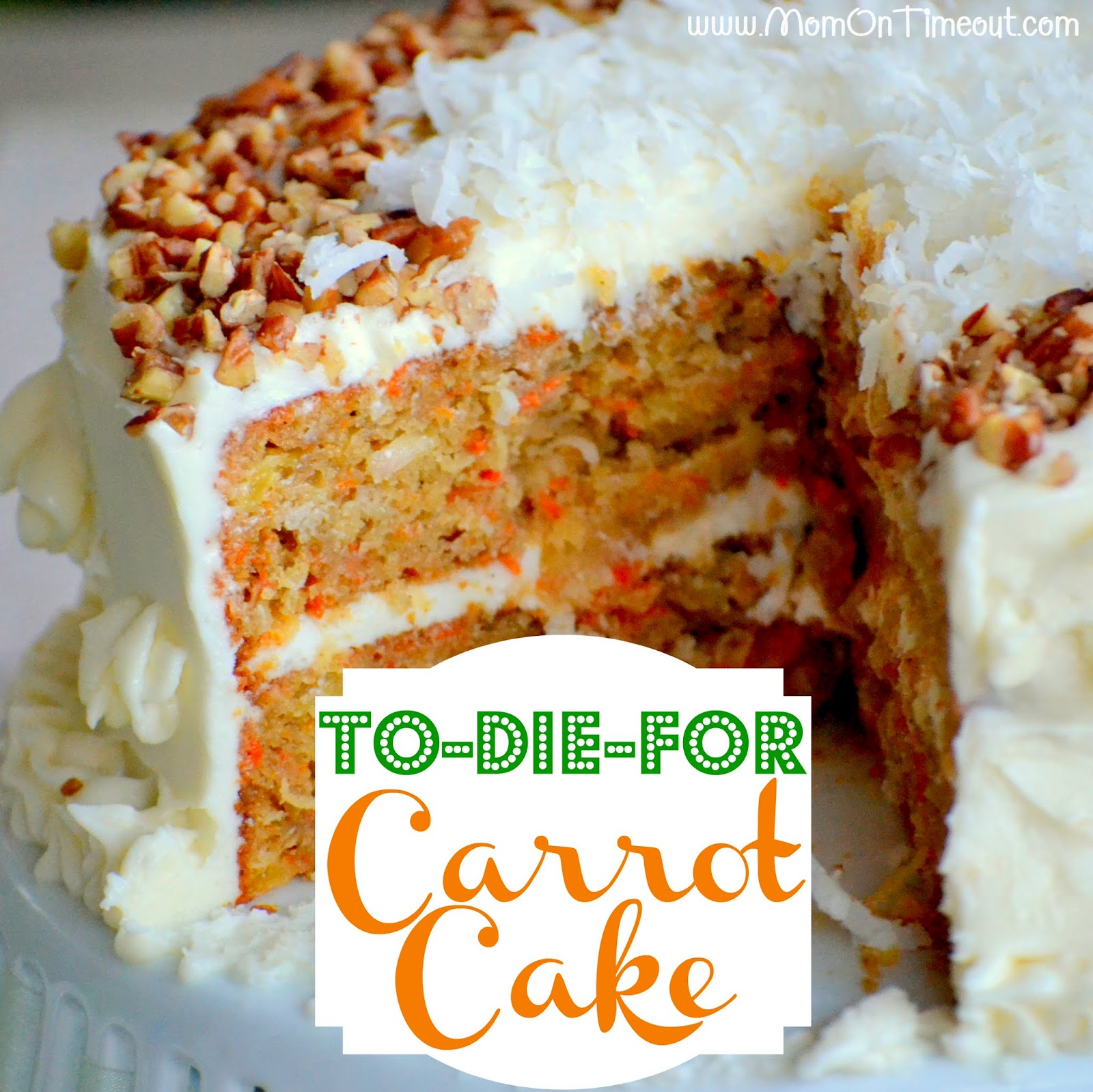 Healthy Ginger Carrot Cake Recipe