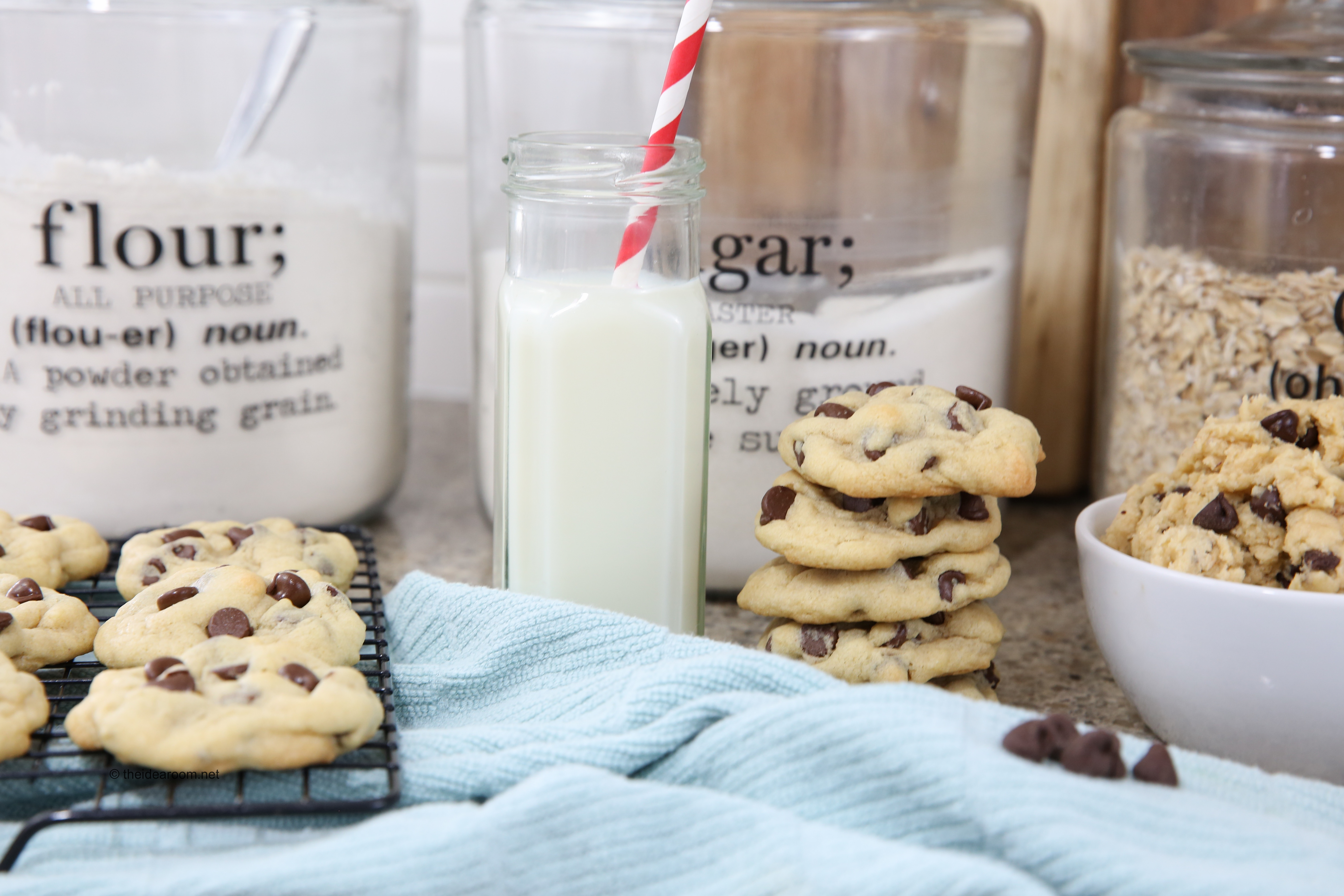 how to make soft chewy chocolate chip cookies