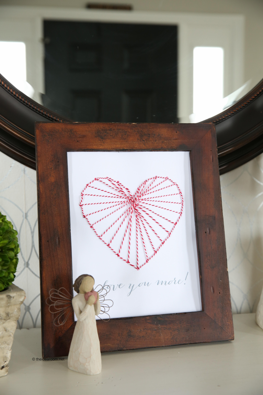 Valentine Picture Frame Crafts For Kids