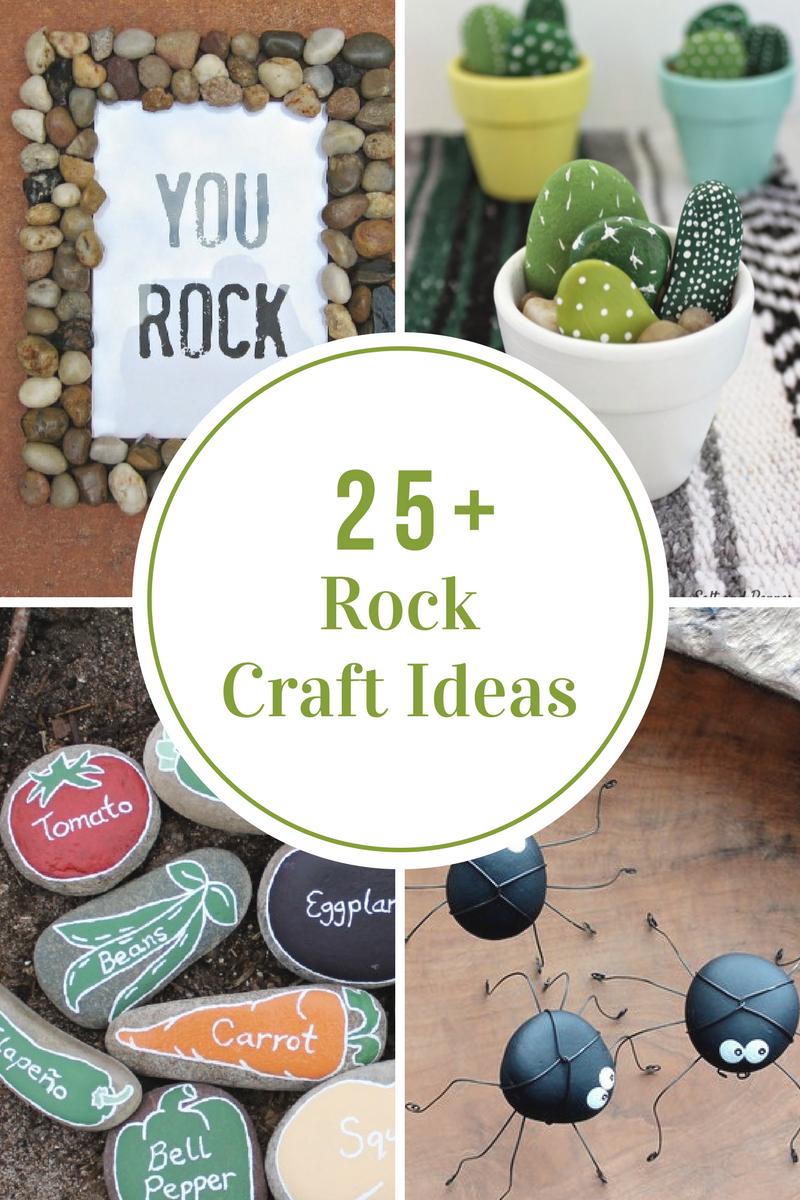 Rock Craft Ideas The Idea Room