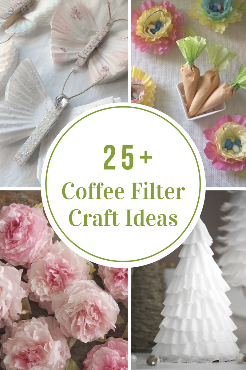Coffee Filter Craft Ideas The Idea Room