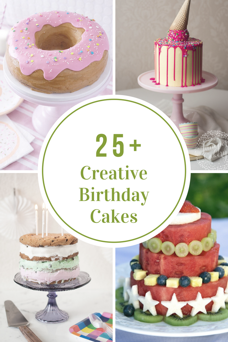 Also If You Want To Switch Things Up A Little This Year Here Are Some Alternatives Traditional Birthday Cake