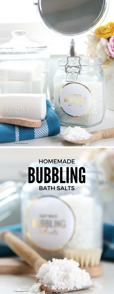 BUBBLING BATH SALTS