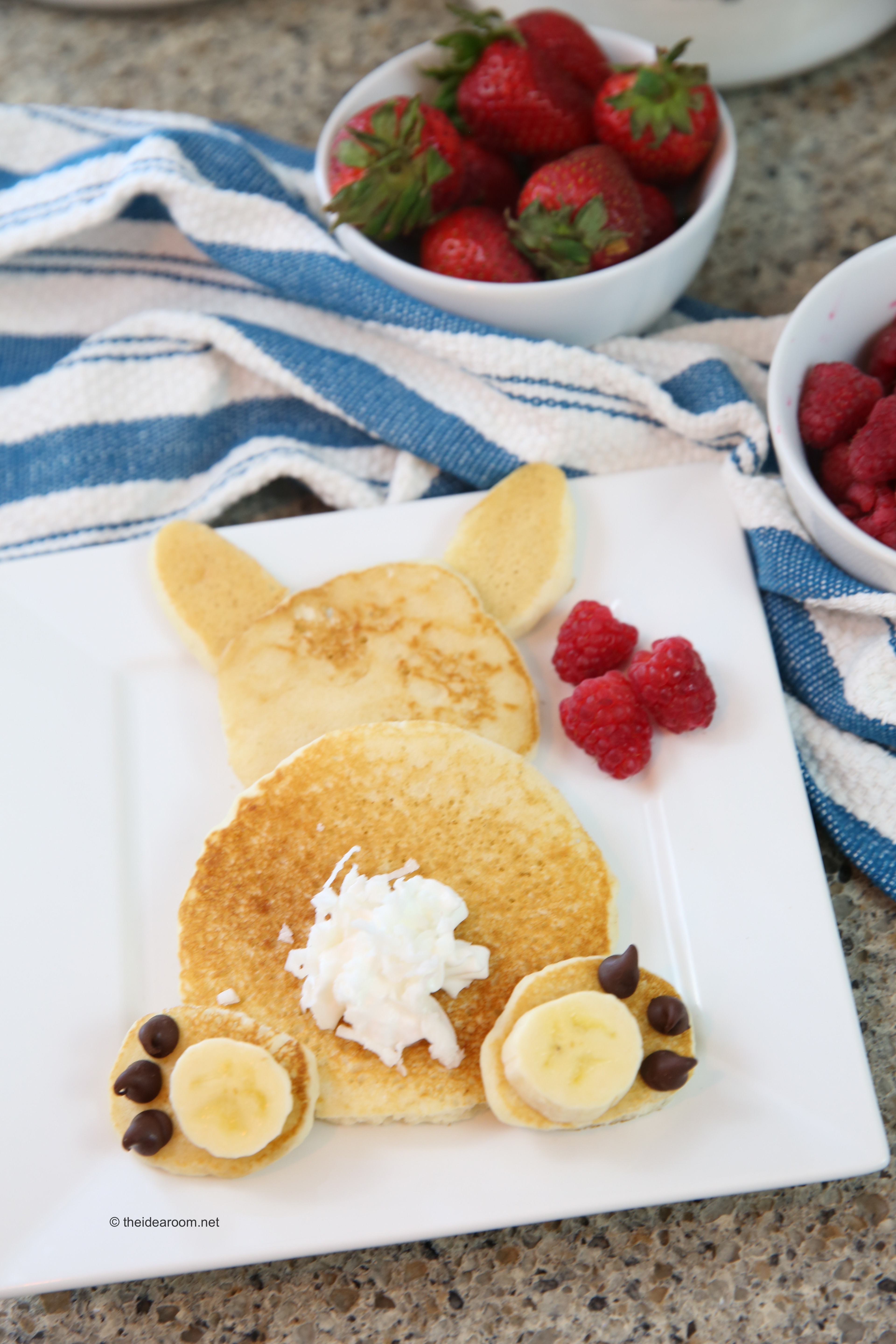 These Are Easy Enough That The Kids Can Even Make Them On Their Own Just Up Pancakes In Various Sizes Needed For Ears Head