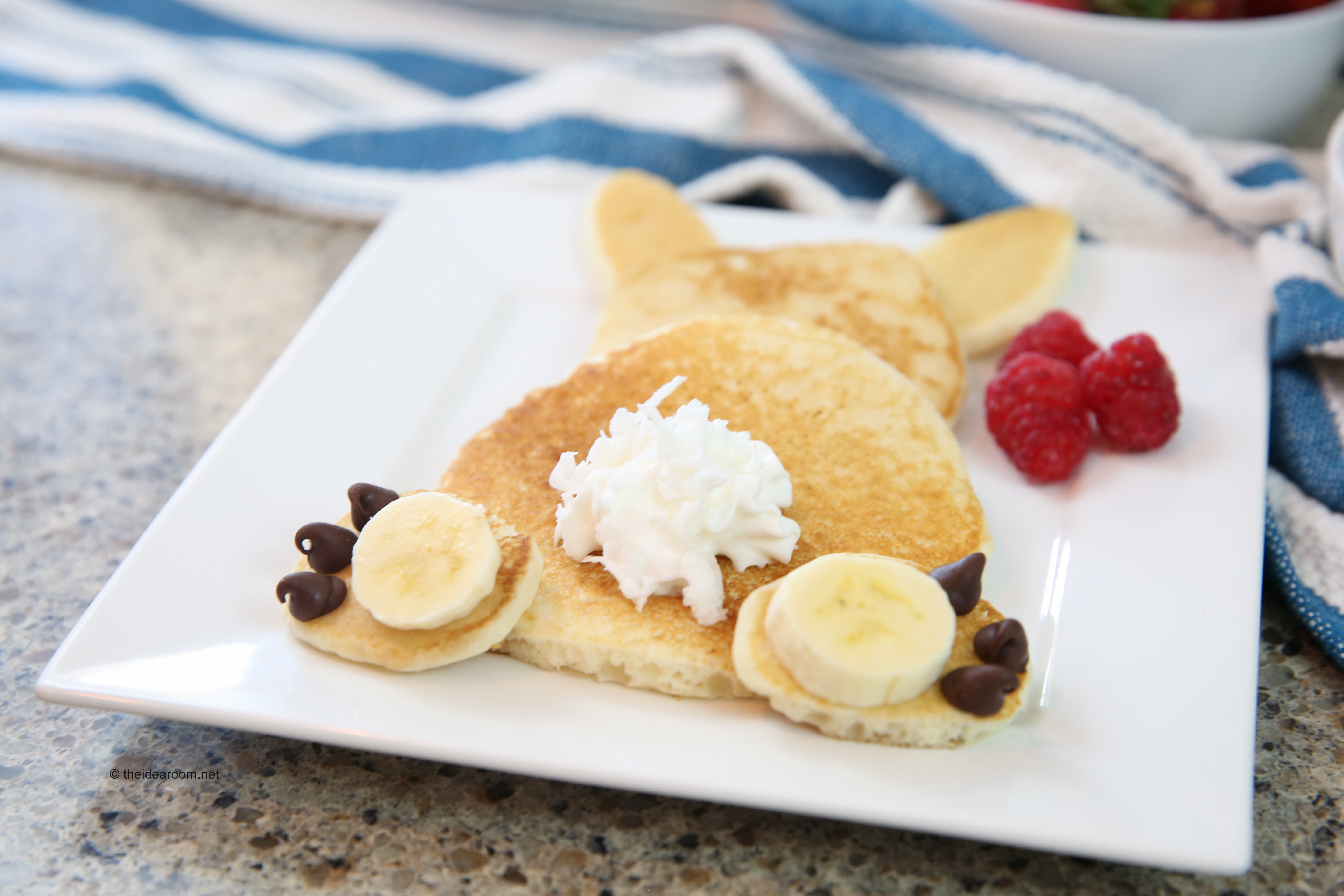Bunny Pancakes I Love Doing Something A Little Extra Special With The Kids On Holidays And Think We Will Make These For Saturday Morning Before Easter