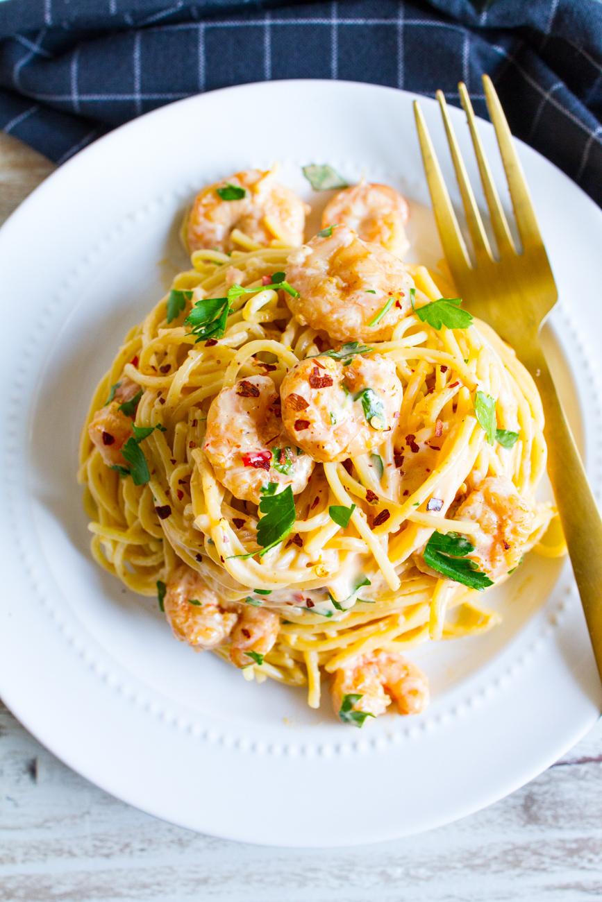 Copycat Bang Bang Shrimp Pasta Recipe