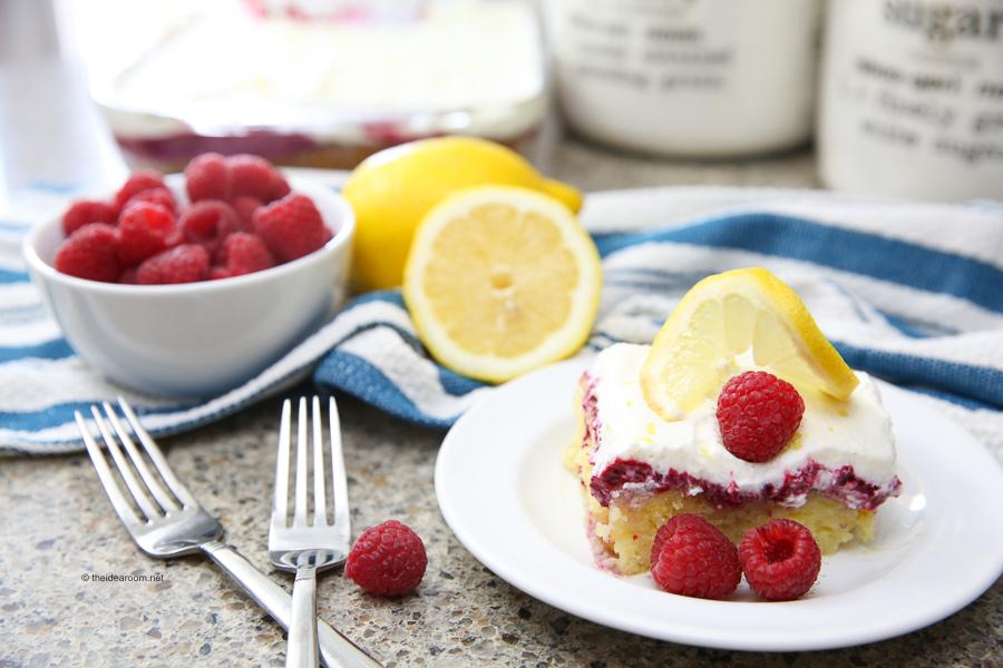 Lemon-Raspberry-Poke-Cake-Recipe-theidearoom