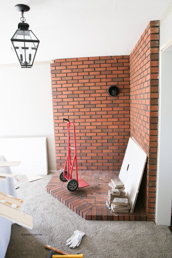 family-room-renovation-remove-brick-fireplace