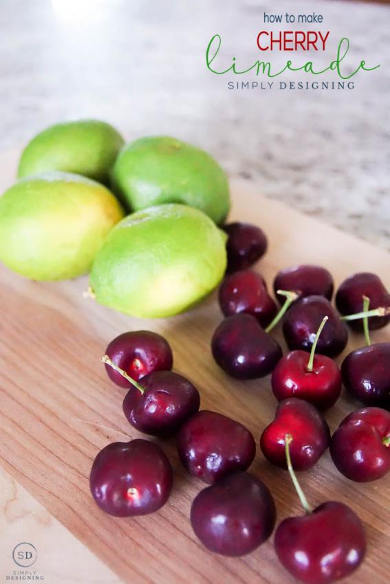 homemade-cherry-limeade-recipe-summer-drink