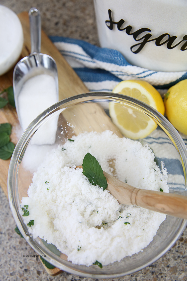 lemon-mint-sugar-scrub-recipe