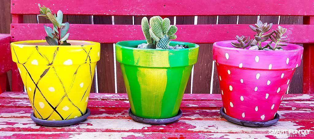 succulent-cactus-DIY-painted-terra-cotta-pots