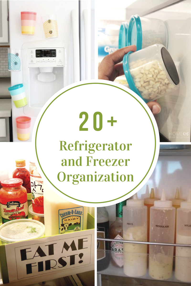 Refrigerator and Freezer Organization Ideas