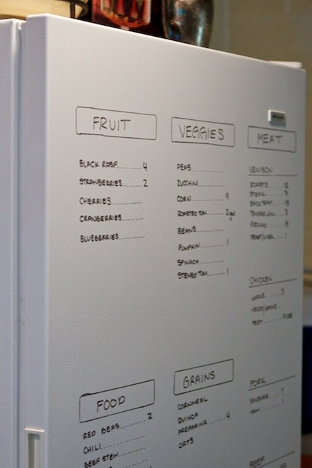 Refrigerator and Freezer Organization Ideas - The Idea Room