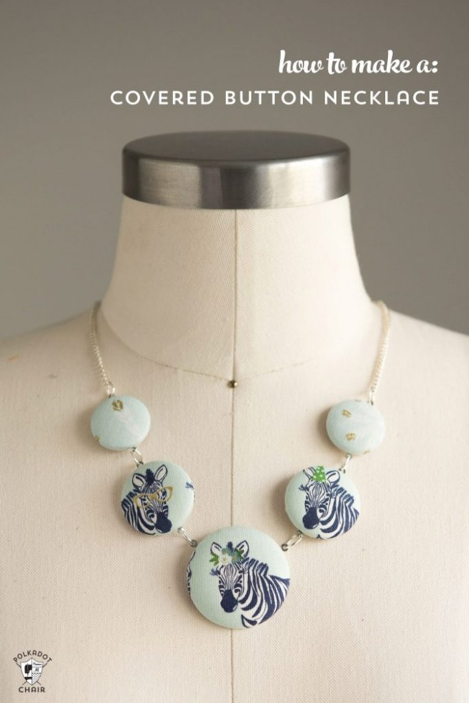 How to Make a Covered Button Necklace