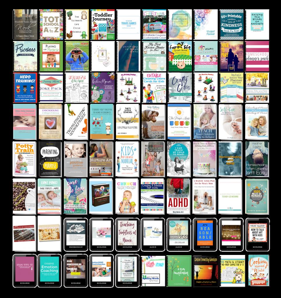 Parenting Super Bundle Book Collection