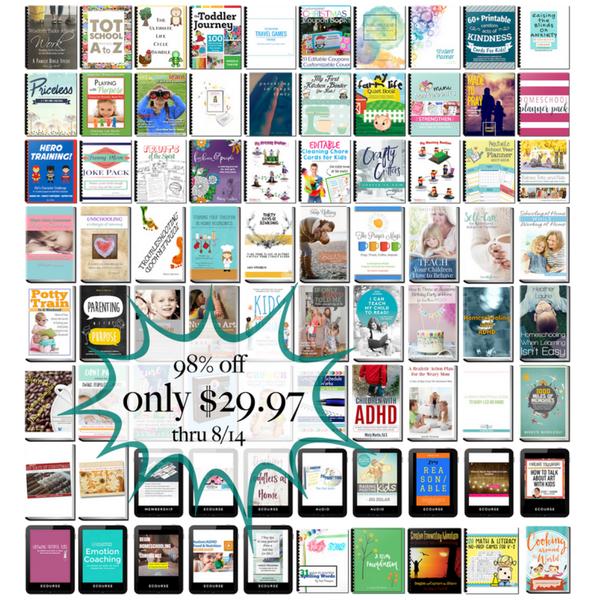 Parenting Super Bundle Book List