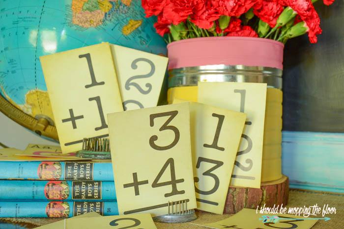 Addition Math Cards