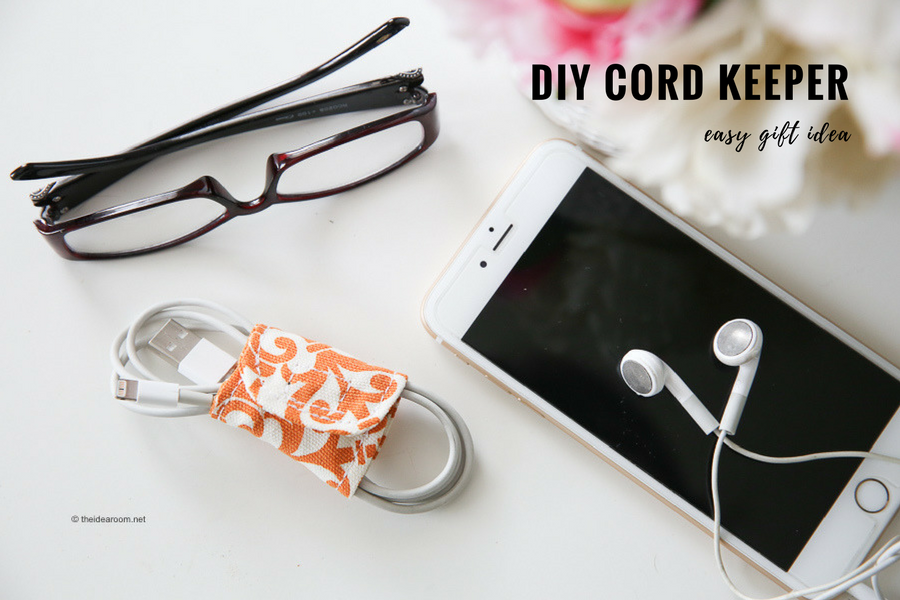 easy to make cord keeper tutorial